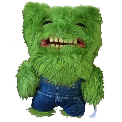 Picture of Fuggler 22cm Funny Ugly Monster - Green With Dungarees
