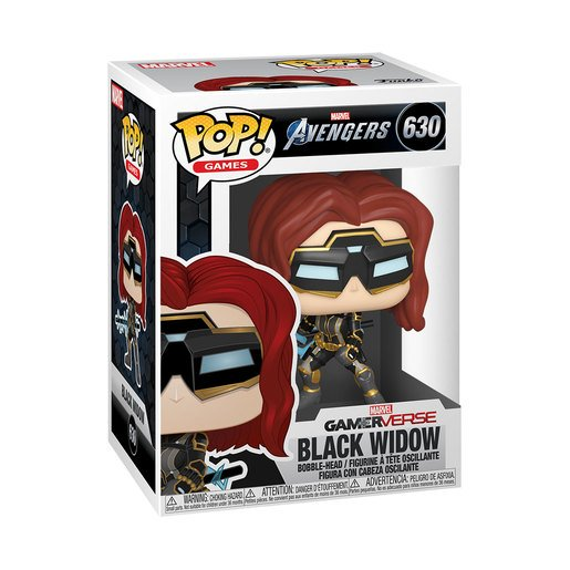 Picture of Funko Pop! Games: Marvel Avengers Gamer Verse - Black Widow (Bobble-Head) (Styles Vary)