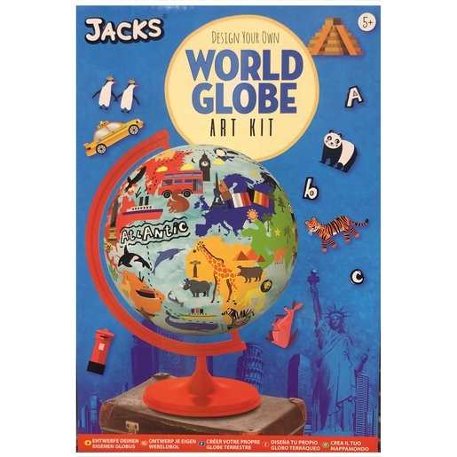Picture of Design Your Own World Globe Art Kit