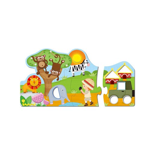 Picture of Safari Shapes Puzzle