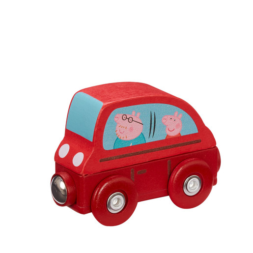 Picture of Peppa Pig Wooden Mini Vehicles - Car