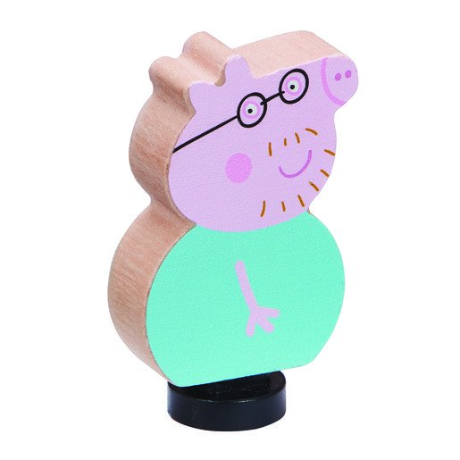 Picture of Peppa Pig Wooden Family Figures - Daddy