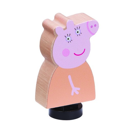 Picture of Peppa Pig Wooden Family Figures - Mummy
