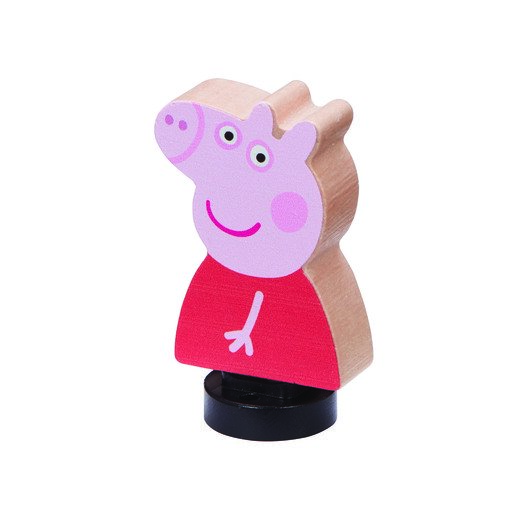 Picture of Peppa Pig Wooden Family Figures - Peppa