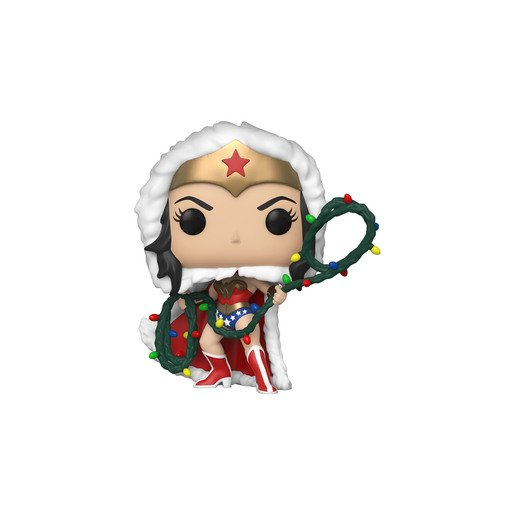 Picture of Funko Pop! Heroes: DC Holiday - Wonder Woman With String Lights Lasso