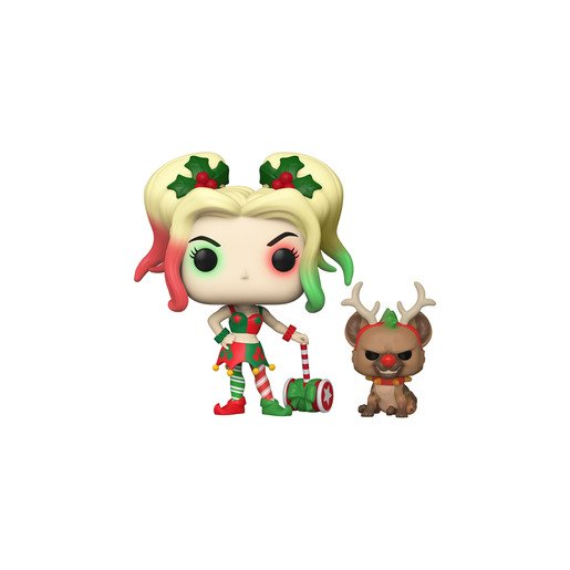Picture of Funko Pop! Heroes : DC Holiday - Harley Quinn With Helper