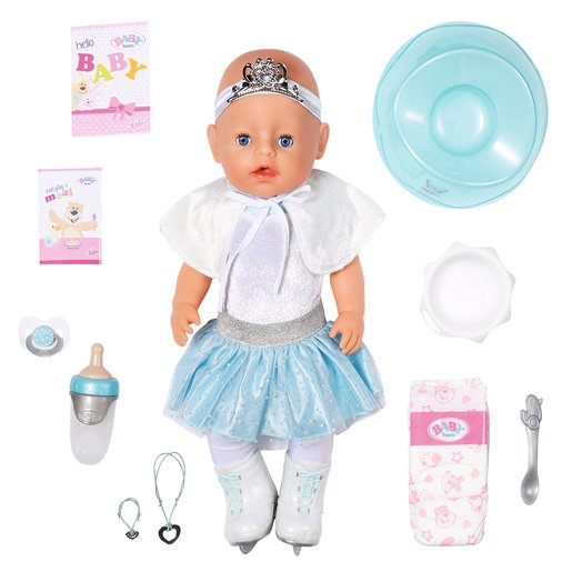 Picture of BABY Born 43cm Soft Touch Ice Ballerina Doll