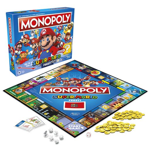 Picture of Monopoly Super Mario Game