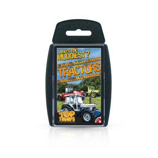 Picture of Top Trumps Tractors Card Game