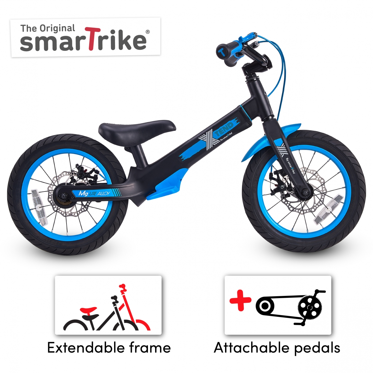 Picture of SmarTrike XTEND Balance Bike-Blue (NEW)