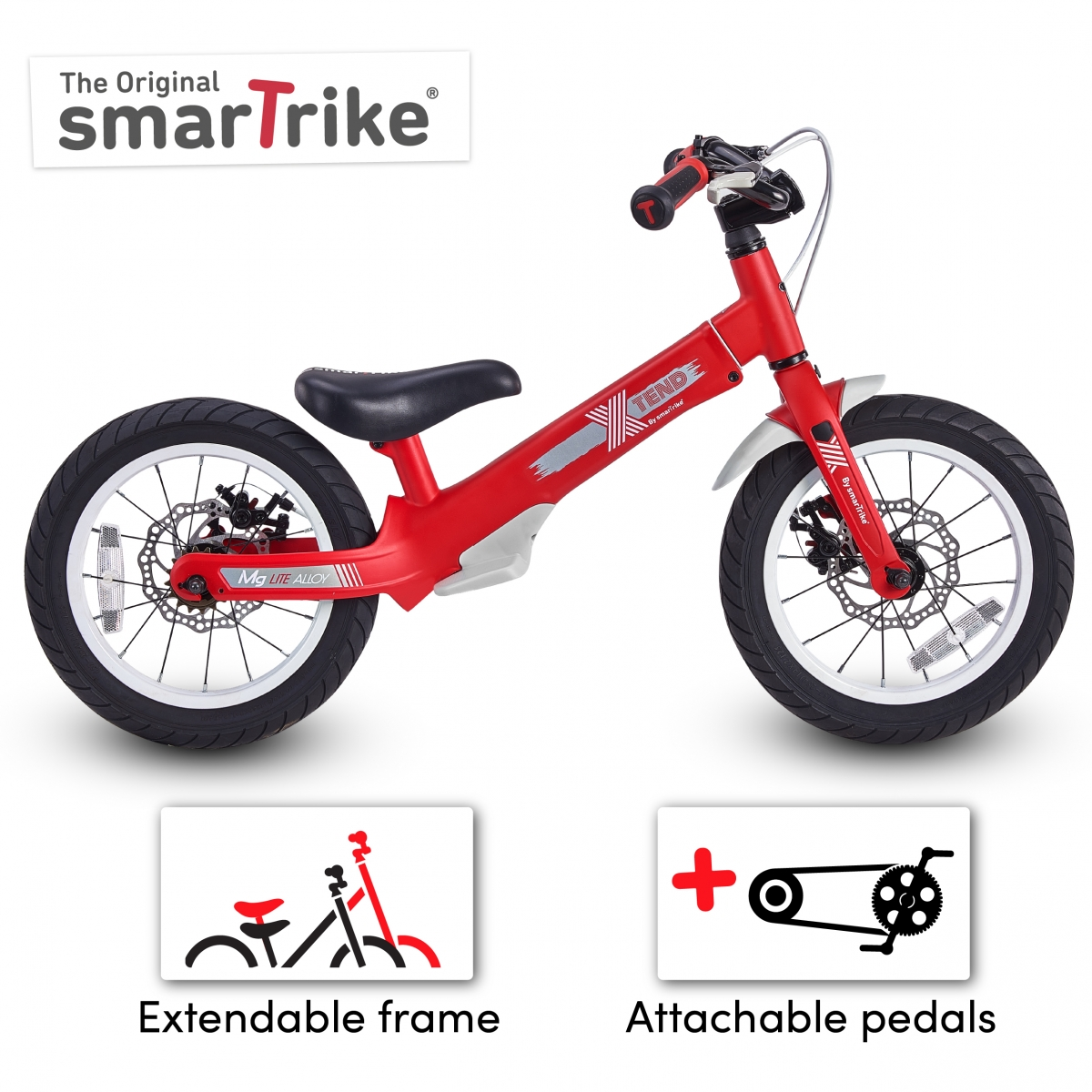 Picture of SmarTrike XTEND Balance Bike-Red (NEW)
