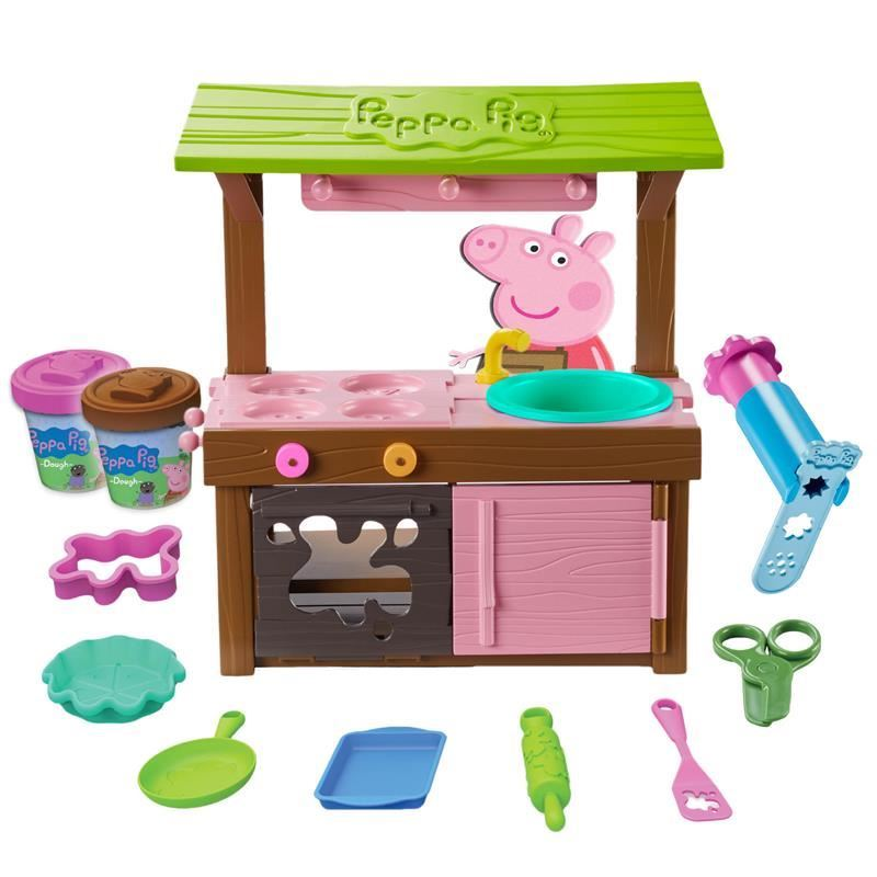 Picture of Peppa Pig - Peppa's Mud Kitchen Dough Toy Set