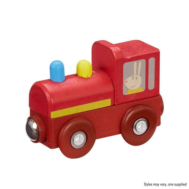Picture of Peppa Pig Wooden Mini Vehicles - Train toy