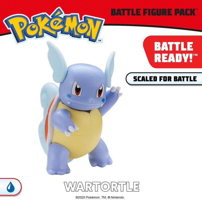 Picture of Pokémon Battle Figure Pack - Wartortle