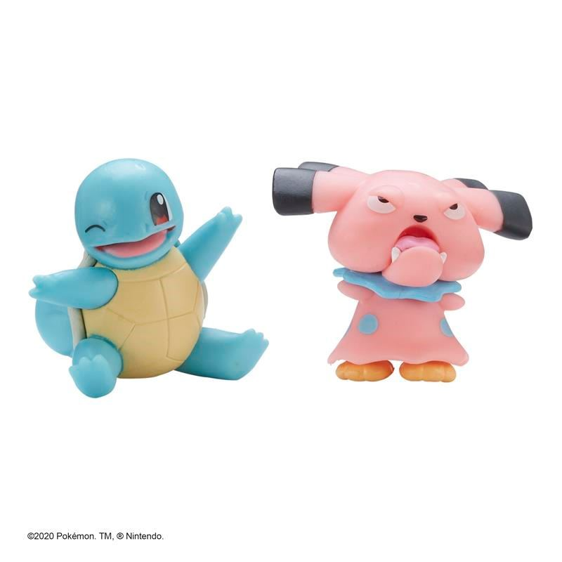 Picture of Pokémon Battle Figure Pack - Snubbull & Squirtle