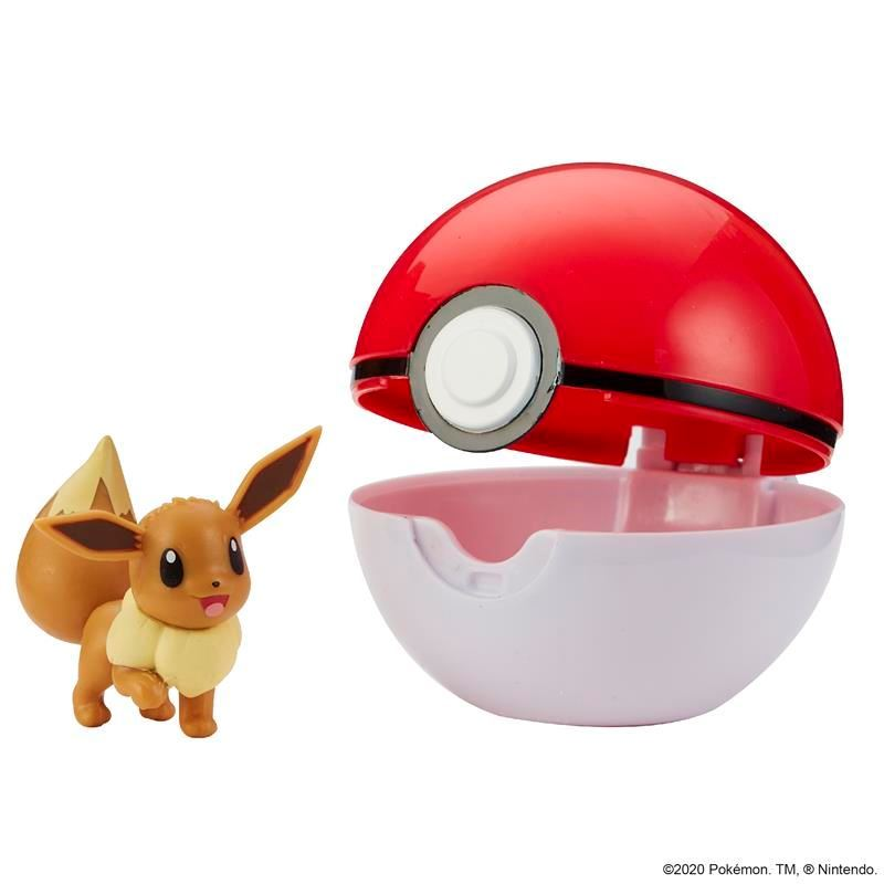 Picture of Pokémon Clip 'N' Go Poké Ball - Eevee & Poke Ball