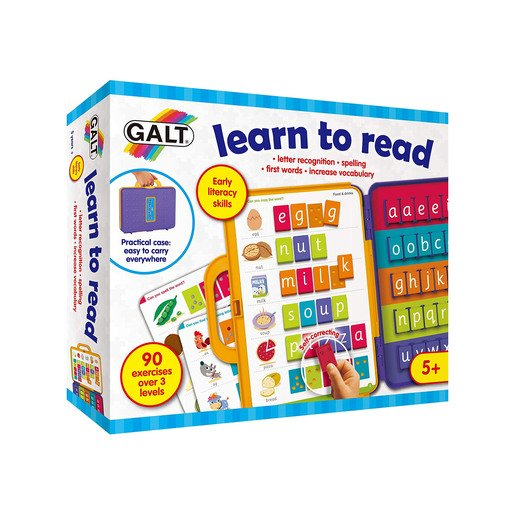 Picture of Galt Learn To Read Activity Case