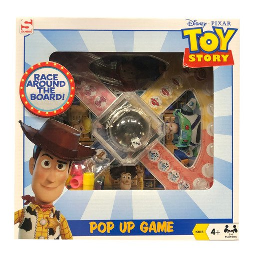 Picture of Disney Pixar Toy Story 4 Pop Up Game