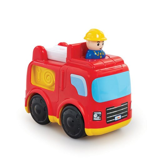 Picture of Little Lot Press & Go Rescue Vehicle - Fire Engine