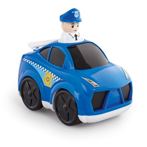 Picture of Little Lot Press & Go Rescue Vehicle - Police Car