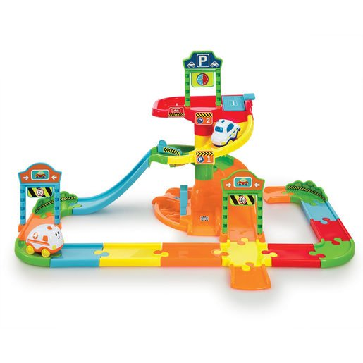 Picture of Little Lot Park & Drive Garage Playset