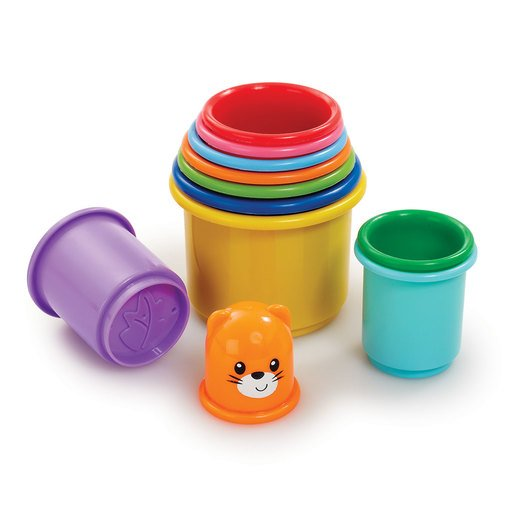 Picture of Little Lot Rainbow Stacking Cups