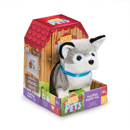 Picture of Pitter Patter Pet Playful Puppy Pal Soft Toy - Huskey