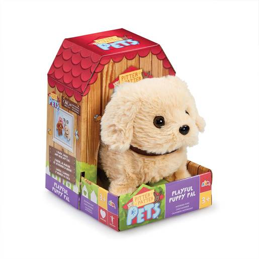 Picture of Pitter Patter Pet Playful Puppy Pal Soft Toy -Lab
