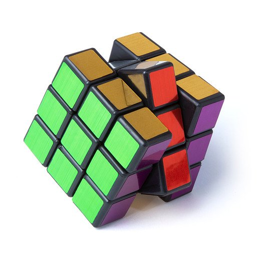 Picture of Speed Cube Puzzle - Metallic Edition