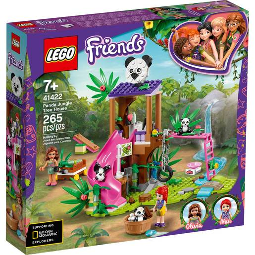 Picture of LEGO Friends Panda Jungle Tree House- 41422