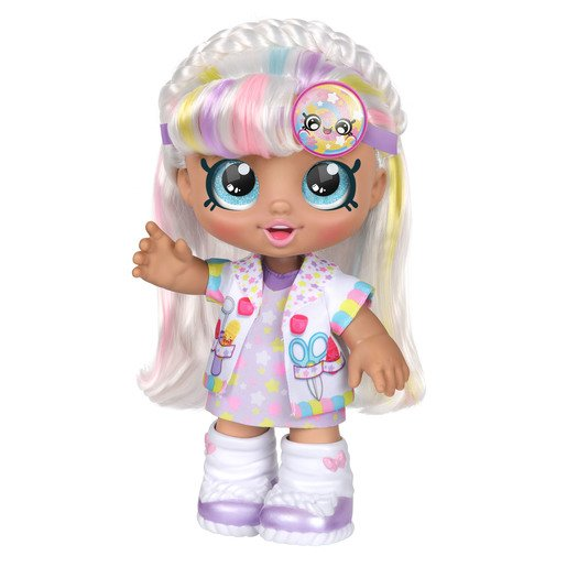 Picture of Kindi Kids Doctor's Dress Up Doll - Marsha Mello