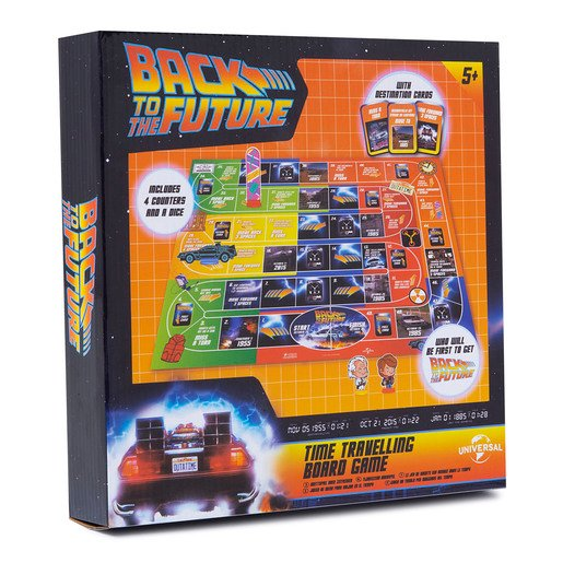 Picture of Back To The Future Board Time Travelling Board Game