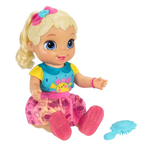 Picture of Baby Alive Baby Grows Up - Blonde Hair