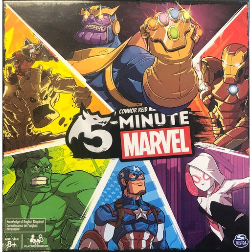 Picture of 5-Minute Marvel Game