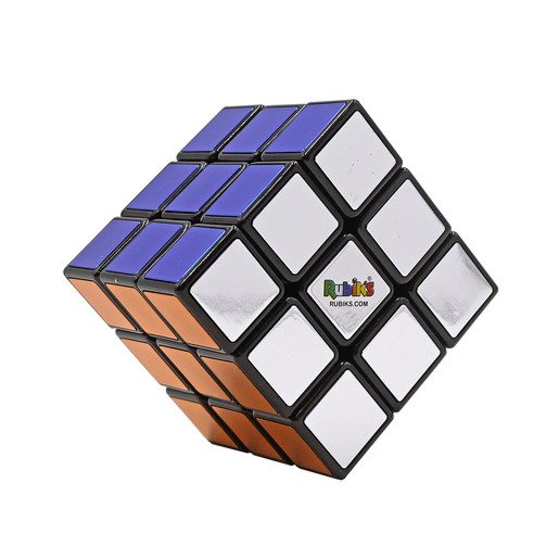 Picture of Metallic Rubiks Cube 3 X 3