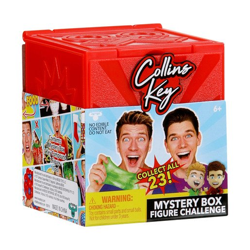 Picture of Collins Key Mystery Box Figure Challenge (Styles Vary)