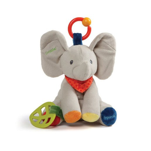Picture of Baby Gund 20cm - Flappy The Elephant Activity Toy