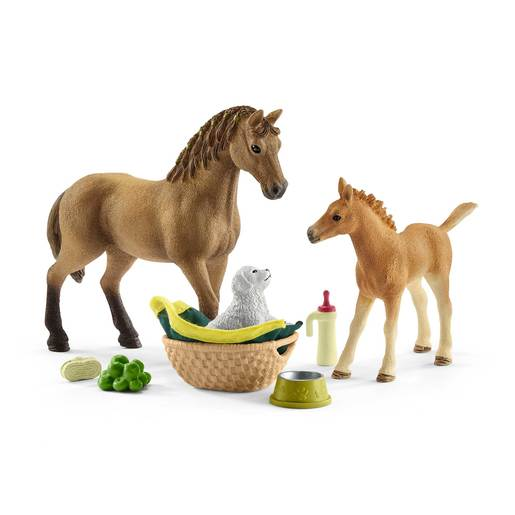 Picture of Schleich Horse Club Sarah's Baby Animal Care Playset