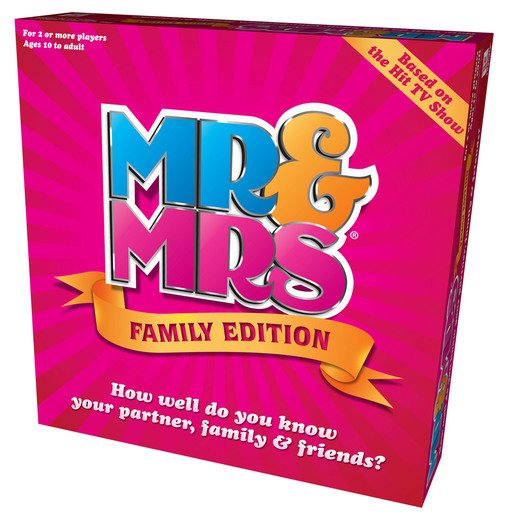Picture of Mr & Mrs Family Edition Game
