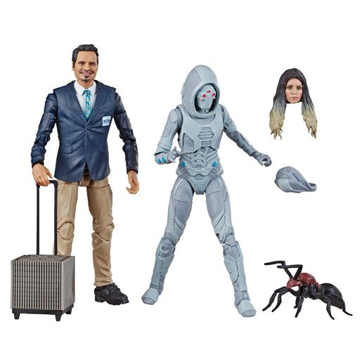 Picture of Marvel Legends Series Ant-Man and the Wasp Figure Pack- X-Con Luis and Marvel's Ghost