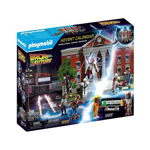 Picture of Playmobil 70574 Back to the Future Advent Calendar