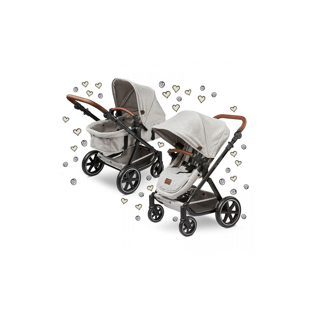 Picture of ABC Design Fashion Edition Migno Dolls Pram-Deer (New 2020)