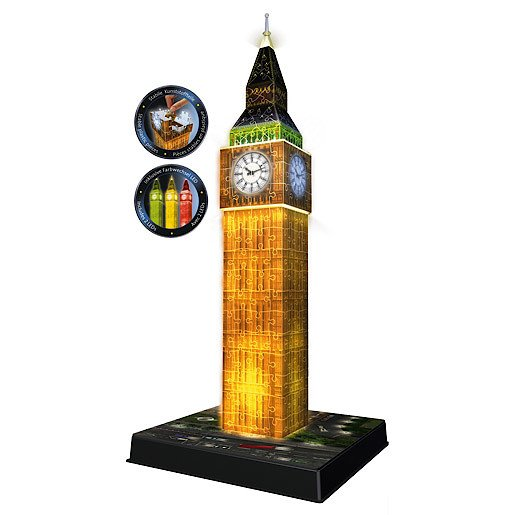 Picture of Ravensburger Night Edition Big Ben with Lights
