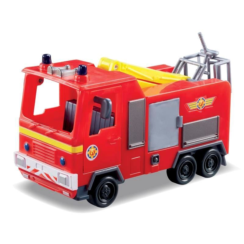 Picture of Fireman Sam Vehicle and Accessory Set - Jupiter the Fire Engine