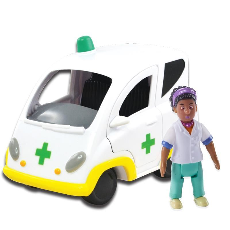 Picture of Fireman Sam Vehicle and Accessory Toy Set - Ambulance