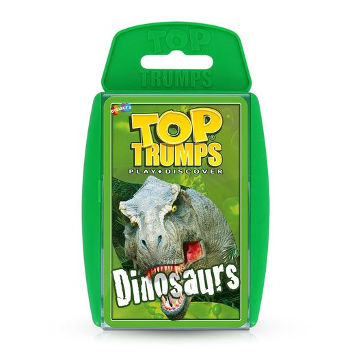 Picture of Dinosaurs Top Trumps Card Game
