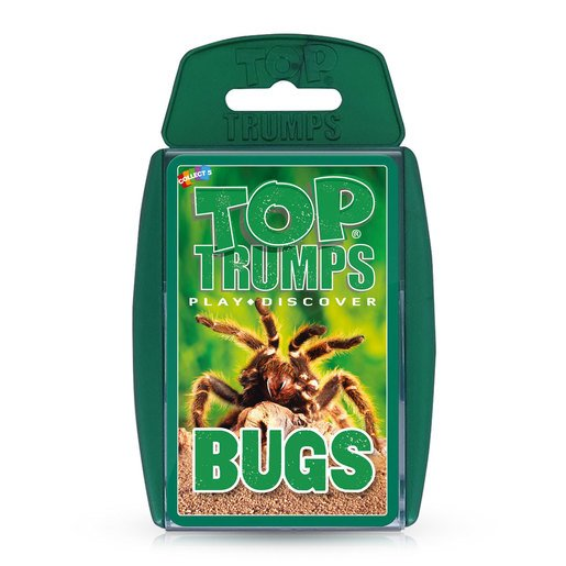Picture of Bugs Top Trumps Card Game