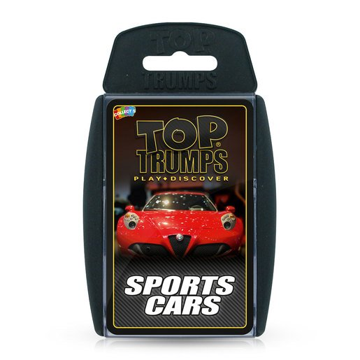 Picture of Sports Cars Top Trumps Card Game