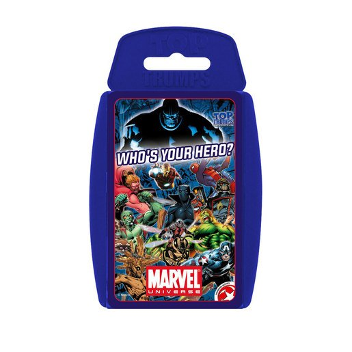 Picture of Marvel Universe Top Trumps Card Game