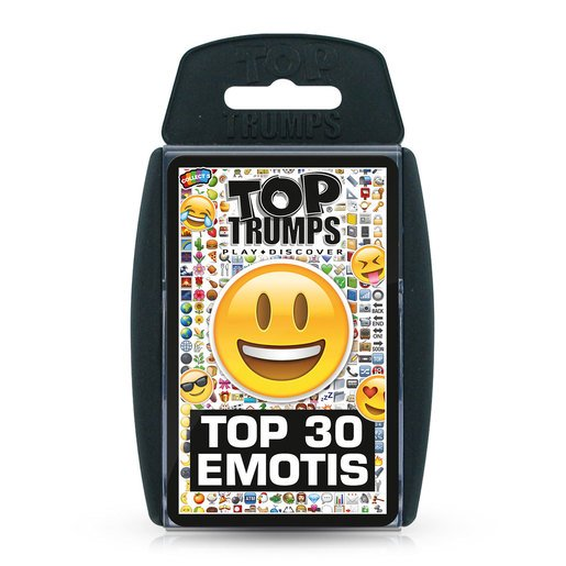 Picture of Top 30 Emotis Top Trumps Card Game